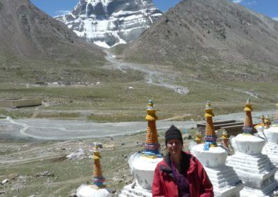 Aufenthalt an der Nordseite/North Face des Kailash