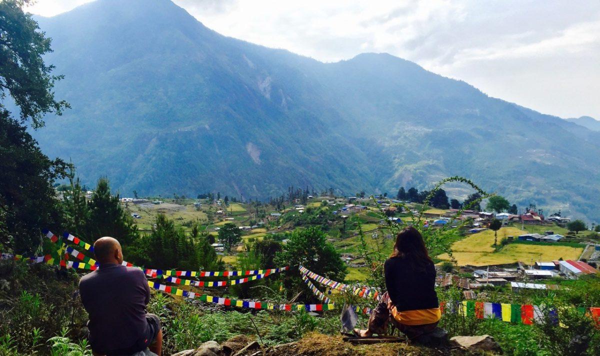 Helambu Trekking in Nepal bei Tarkeghyang