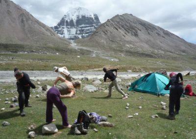Tibetisches Yoga Lu Jong am Kailash
