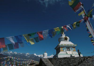 Stupa auf dem Yangri Peak - Helambu/Nepal