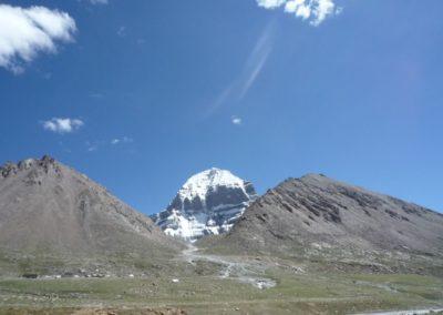 Der Weg zum Kailash in Richtung Drölma La Pass