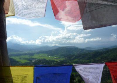 Typische Landschaft Nepals