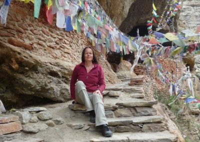 Eingang zur Höhle Padmasambhava Guru Rimpoche