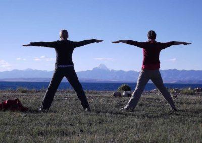 Tibetisches Yoga Lu Jong am Manasarovarsee